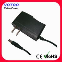 Quality High efficiency 12V AC DC Power Adapter 2 Flat Pin Plug for CCTV security for sale