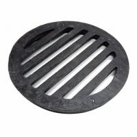 Quality Round Cast Iron Manhole Cover Floor Drain Grates Cover Gully Grids Round Bar Grates And Strainer for sale