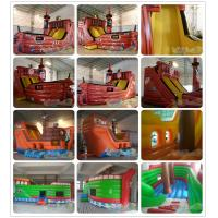 Quality Inflatable Pirate Ship Slide for sale