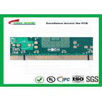 Buy Green 10 Layer Hard Gold Printed Circuit Boards SMT PCB Assembly 0.25mm Holes at wholesale prices