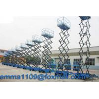 Quality 4m to 18m SJY Scissor Working Platform Load 300kg to 1000kg Mobile Type Power Control for sale
