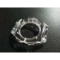China Transparent Watch Case Sapphire Cover Glass Wear Resistance Polished Surface on sale