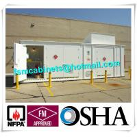 Quality Chemical Storage Buildings , Hazardous Material Storage Building For Corrosive Liquid for sale