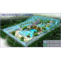 Indoor Water Park Project For People Entertainment , Wave Pool Design for sale