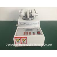 Buy Leading Supplier Leather Taber Abrasion Tester , Rubber Taber Abrasion Tester Excellent Quality at wholesale prices