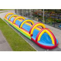 Quality 2016 Hot sell commercial inflatable slip n slide with competitive price GT-WS-0802 for sale