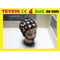 Quality ROHS / IS013485 Reusable EEG Cap With Silver Chloride Electrode for sale
