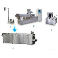 Quality Soya Bean Food Processing Machinery , Vegetarian Sausage Making Equipment for sale