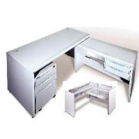 Quality Office Main Desks With Side Desk and Pedestal for sale