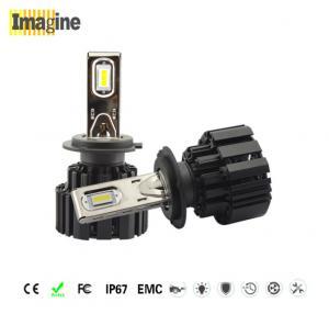led replacement headlight bulb, High Bright CSP H7 LED Headlight Bulb 6000k IP67 Strong Light Transmission