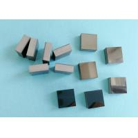 Rectangle Pcd Wire Drawing Die Blanks / PCD Square Carbide Blanks Laser Cutting for sale