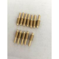 Quality High Precision Worm Gear Set Small Bronze Brass Cast Iron Material Customized for sale