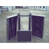 Quality Rack Flight Case 14U ShockProof Three Door Case 9mm Plywood With 1mm Color Fireproof Wood for sale