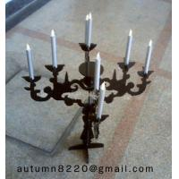 Quality CH (36) round Acrylic candle holder for sale