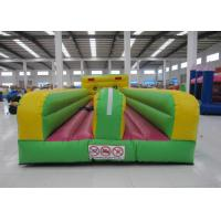 Quality High Durability Inflatable Bungee Run , Funny Inflatable Bungee Trampoline 10.6 X 3.3 X 2.4m for sale