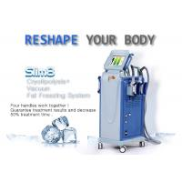 Quality Powerful Multifunctional Cryolipolysis Machine Cellulite Reduction Machine With 4 Handpieces for sale