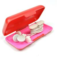 Buy TPU Households Products Earbud Storage Case Earphone Line Cable Winder at wholesale prices