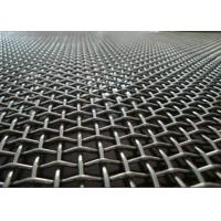 Quality Factory Flat Top Crimped Woven Wire Mesh Multi Color With Beautiful Structure for sale