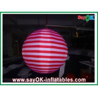 Quality Led Lighting Inflatable Lighting Decoration Hanging Ball CE / UL Blower for sale