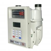 China Domestic GPRS Remote Reading Prepaid Gas Meter With AMR / AMI System on sale