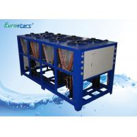 Quality Outdoor 40 Ton Commercial Water Chiller Package Unit Vertical Water Pump for sale