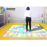 Quality Dynamic Trampoline Interactive Projector Games with Camera Computer Integrated Host for sale