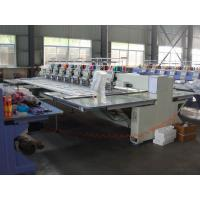 Quality 8 Head 12 Needle Industrial Computerized Embroidery Machine With Sequin Device for sale