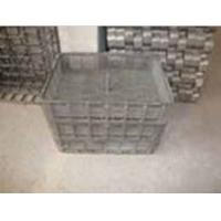 Quality Wear Resistant Casting / Alloy Steel Castings Mesh Baskets for sale