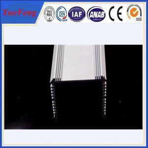 Quality extruded aluminium special profile 6061/6063/6082, aluminum radiator fins factory for sale