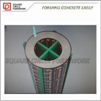 Quality Formwork for Round column, plastic building column, adjustable construction column better than granite column for sale