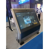 "Quality 1.8Ghz 65"" 110W Wayfinding Information Touch Screen Kiosk for sale"