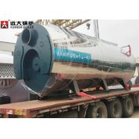China 400 Hp Fire Tube Steam Boiler , Heavy Oil Fired Boiler For Food Factory on sale