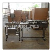 Quality check weigher SYSTEM check canned fruit weight and  air jet to sort  unqualified for sale