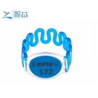 China Spa Club Membership RFID Plastic Wristband,Silicone RFID Wristband,Nylon RFID Wristband on sale