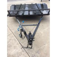 Quality Flatbed Motorcycle Transport Trailer 8x6 With Heavy Duty Tie Down Rings for sale