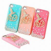 Quality 100% Eco-friendly Silicone Mobile Phone Sleeves/Accessories for iPhone, Dust-proof/Durable for sale