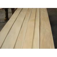 Quality Sliced Natural Chinese Maple Wood Veneer Sheet for sale