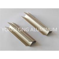 Quality Semi - finished Aluminium Extrusion Profile No aging , Fading Or Falling Off for sale