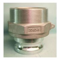 Quality Aluminum camlock coupling for fluid control  Type reducing F MIL-A-A-59326 Gravity casting for sale