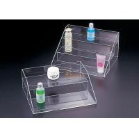 Buy Floor Standing Bathroom Makeup Cosmetic Organizer Burning Resistance at wholesale prices