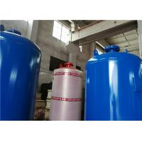 Buy 1000L 8 Bar Vertical Air Compressor Receiver Tank Pressure Pulsation Reduction at wholesale prices