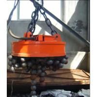 China Transporting Ingots Circular Lifting Magnet Powerful Deep Magnetic Field Design on sale