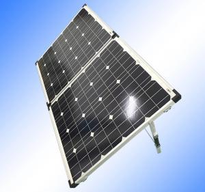 China Waterproof Foldable Solar Panel 12v , SquareSolar Hot Water PanelsPV Cells on sale