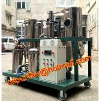 China Used Cooking Vegetable Oil Cleaning Machine,Stainless Steel Coconut Oil Filtration Equipment with oil storage tank on sale