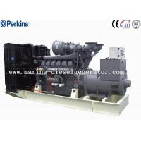 Quality Big Capacity 1688KVA Perkins Diesel Generator , 1350KW 12Cylinders Perkins Generating for sale