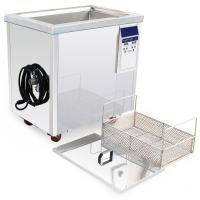 Quality Heated Rust Removal Industrial Ultrasonic Cleaner With Timer And Separate Generator for sale