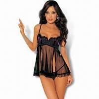 Quality Babydolls with Pant, Available in Various Colors for sale
