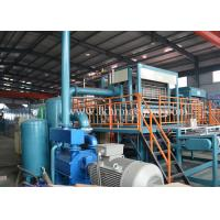 Buy Siemens Motor Waster Paper Egg Tray Machine 400-12000pcs / Hour Production Speed at wholesale prices