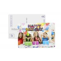 Quality Birthday Card 3D Lenticular Postcard Plastic Material / 3d Animal Pictures for sale