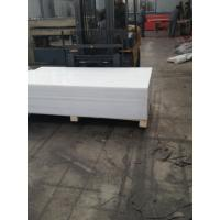 Quality Natural whhite pp polypropylene plastic sheet 3000x1500mm 10mm 15mm thickness for sale